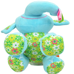 Cute Plush Lullaby Musical Elephant for Baby - Gifts Are Blue - 5