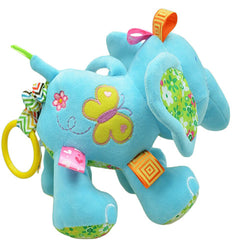 Cute Plush Lullaby Musical Elephant for Baby - Gifts Are Blue - 4