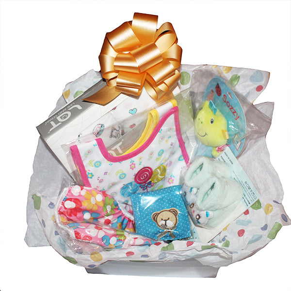 Gifts Are Blue Baby Girl Bundled Box Gift Set - 10 Items