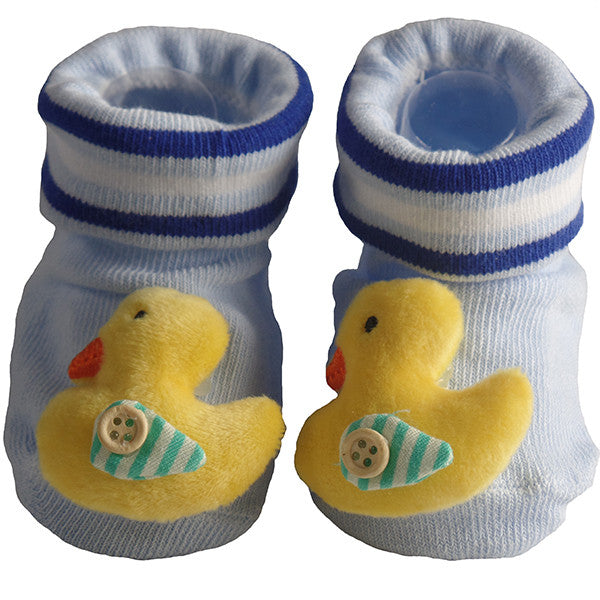 Cute Infant Baby Cotton Socks Shoes, 0 to 6 Months - Gifts Are Blue - 8