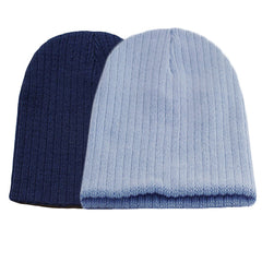 Little Kids Blue Beanie Hat - Gifts Are Blue - 7