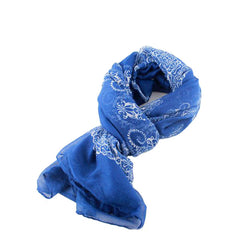 Blue Autumn/Winter Womens Scarf - Gifts Are Blue - 4