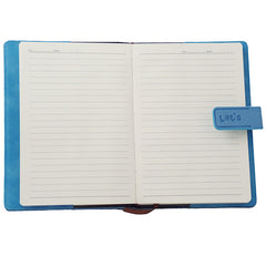 Blue Leather Journal & Diary, A5,128 Sheets - Gifts Are Blue - 3