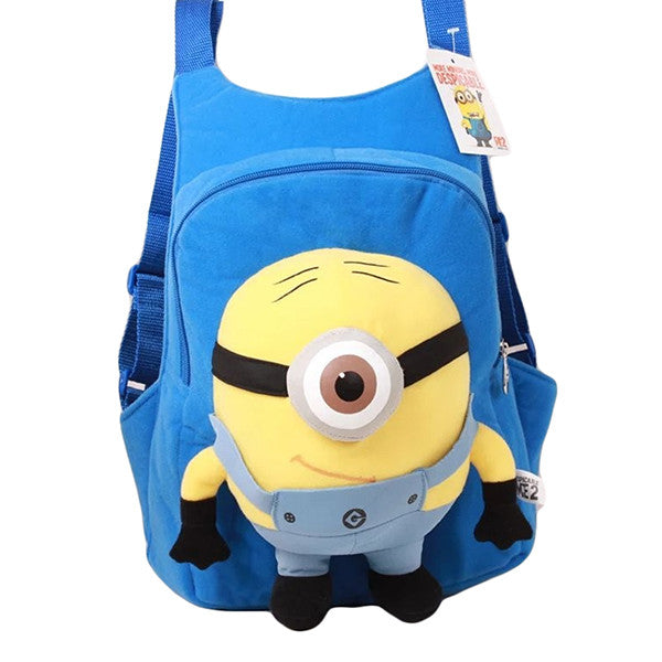 Child 3D Minion Backpack, Ages 3 to 6, Blue - Gifts Are Blue - 2