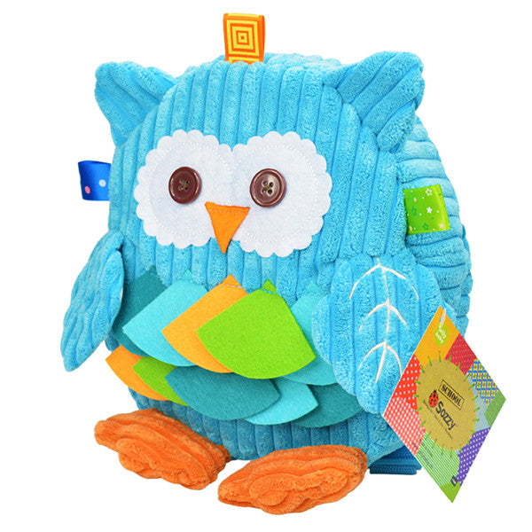 Toddler & Preschooler 3D Owl Backpack - Gifts Are Blue - 1