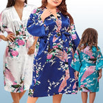 Bridesmaid Robes Plus Size - Flower Girl Robes - Bride Robe Plus Size, all SKUs