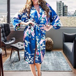 Medium Length Floral Womens Robe, Hotel Room, all SKUs