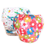 2 Pack Leakproof Reusable Swim Diapers, 0 to 3 years - Gifts Are Blue - 3