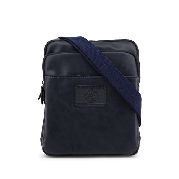 Carrera Jeans Mens Crossbody Bag w Complimentary Drawstring Backpack