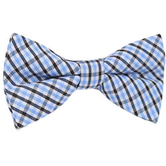Boys Blue Pre-Tied Bowtie, Stripes, 1 to 10 years - Gifts Are Blue - 2