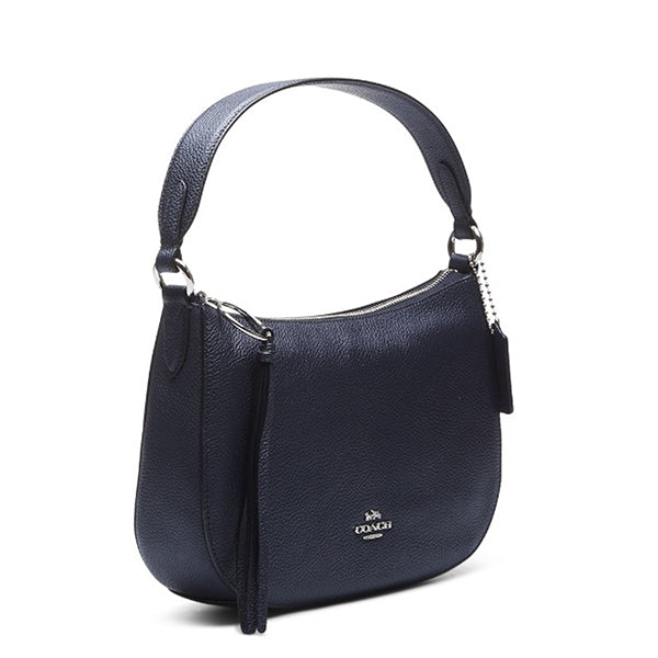 Coach Convertible Handbag and Crossbody Bag, 52548, Sideview, Midnight Blue