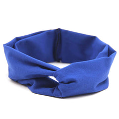 Blue Baby and Kids Headband / Head Scarf - Gifts Are Blue - 3