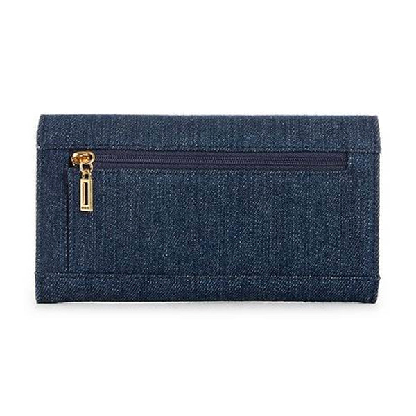 Dazzling Denim Slim Wallet by Guess