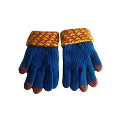 Womens Elegant Touch Screen Winter Gloves - Gifts Are Blue - 6