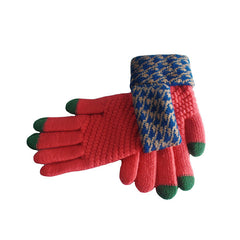 Womens Elegant Touch Screen Winter Gloves - Gifts Are Blue - 7