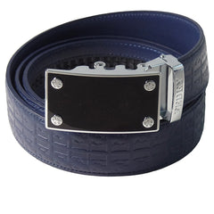 FEDEY Ratchet Belts for Men, Leather Signature Series, Blank Canvas