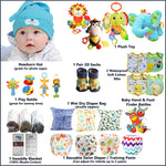 Gifts Are Blue Unisex Baby Bundle Gift Set for Expecting Mothers