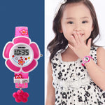 SKMEI Girls Cute Flower Digital Watch with Charm, 4 to 7 year olds, Model, all SKUs