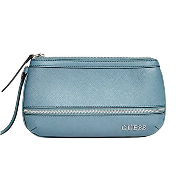 Guess Women's Abitha Zipper Wristlet