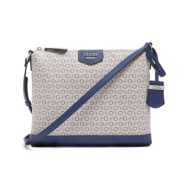 Logo Print Guess Bennet Crossbody Bag