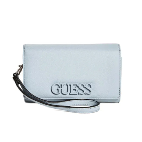 Guess Buckley Phone Wristlet, Medium, Blue, LE772442, Main