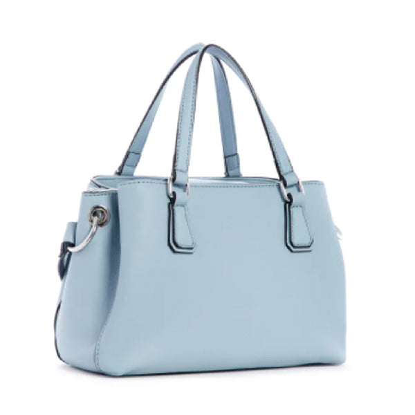 Buckley Satchel by Guess, Medium, Blue, LE772406, Sideview