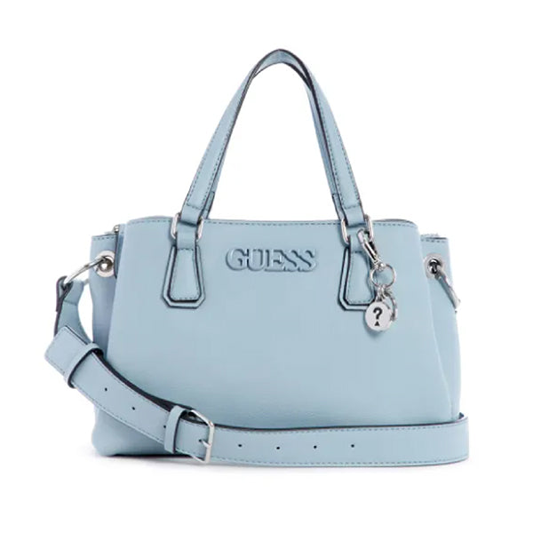 Buckley Satchel by Guess, Medium, Blue, LE772406, Main