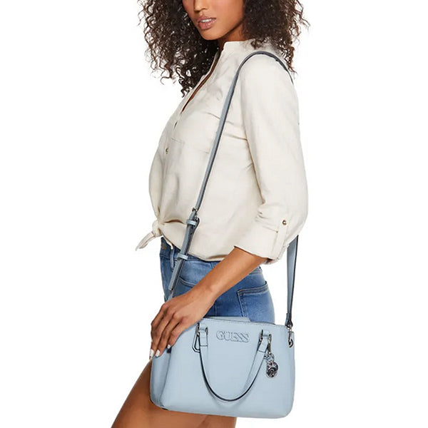 Buckley Satchel by Guess, Medium, Blue, LE772406, Model