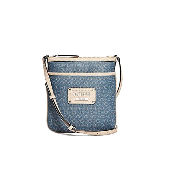 Guess Proposal Crossbody Messenger Bag - Gifts Are Blue - 1