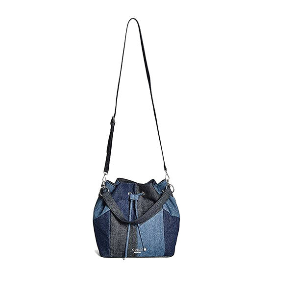 Diego Denim Bucket Bag