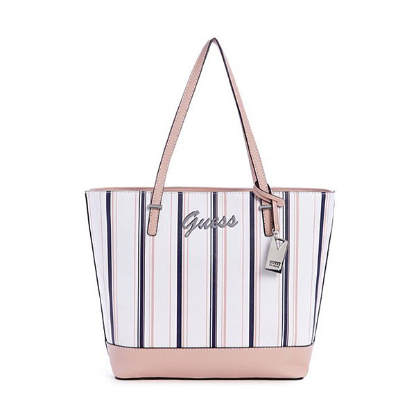 Guess Matty Printed Carryall Tote Bag