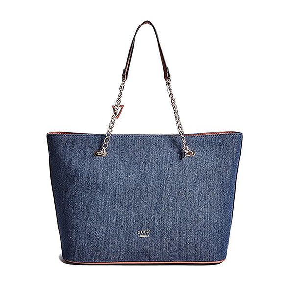 Mila Denim Tote by Guess