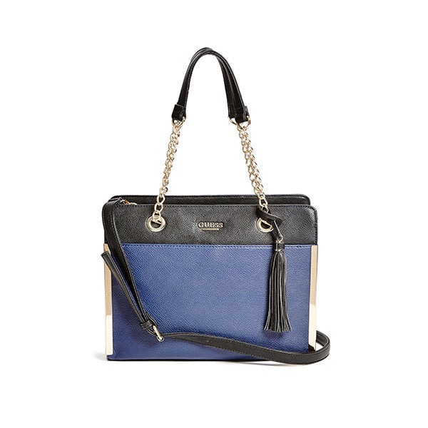Womens Mila Pebbled Satchel Handbag