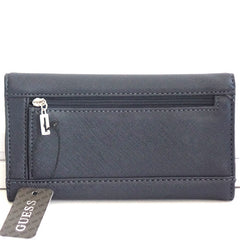 Guess Abree Slim Navy Wallet Clutch - Gifts Are Blue - 2