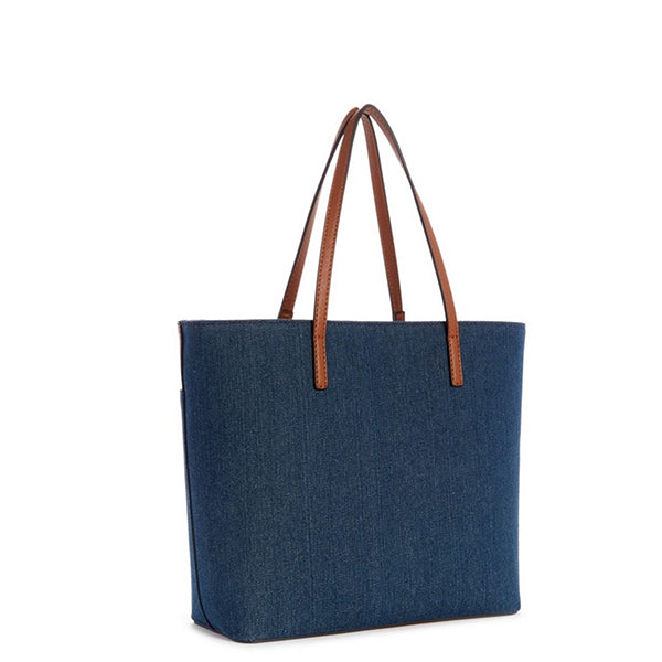 Guess Rubic Denim Shoulder Tote DE511823, Back, all SKUs