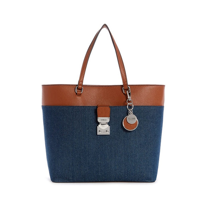 Guess Rubic Denim Shoulder Tote DE511823, Main, all SKUs