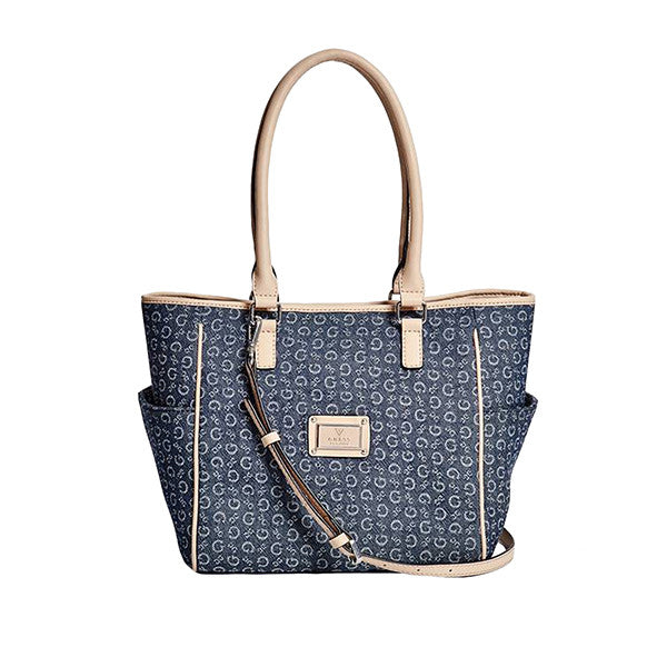 Tallahassee Denim Logo Tote - Gifts Are Blue - 1