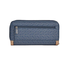 Guess Proposal Zip Around Wallet, Large - Gifts Are Blue - 2
