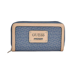 Guess Proposal Zip Around Wallet, Large - Gifts Are Blue - 1