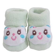 Cute Infant Baby Cotton Socks Shoes, 0 to 6 Months - Gifts Are Blue - 7