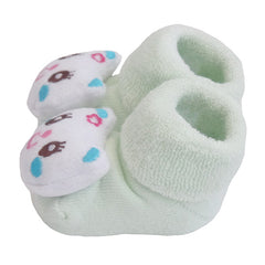 3 Pack Cute Infant Baby 3D Socks Slippers - Gifts Are Blue - 10