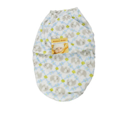 New Infant Baby Swaddle Wrap Fleece Blanket - Gifts Are Blue - 3