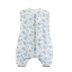 Infant Cotton Sleep Romper - Gifts Are Blue - 3
