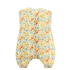 Infant Cotton Sleep Romper - Gifts Are Blue - 4
