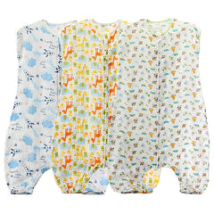Infant Cotton Sleep Romper - Gifts Are Blue - 1
