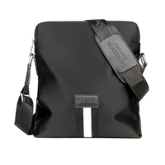 JackKevin Mens Casual Nylon Messenger Bag, Single Strap Shoulder Bag