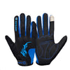 Kingsir Full Finger Touch Screen Gloves - Gifts Are Blue - 2