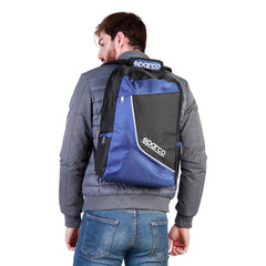 Sparco F12 Blue Rucksack - Medium Backpack