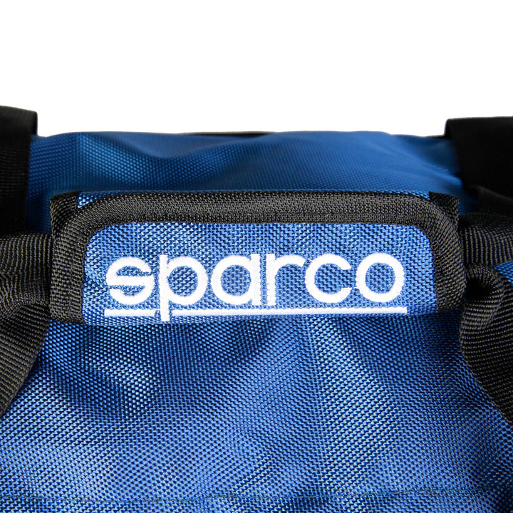 Sparco Blue Gym and Travel Bag - S6_BLU, Closeup, Blue