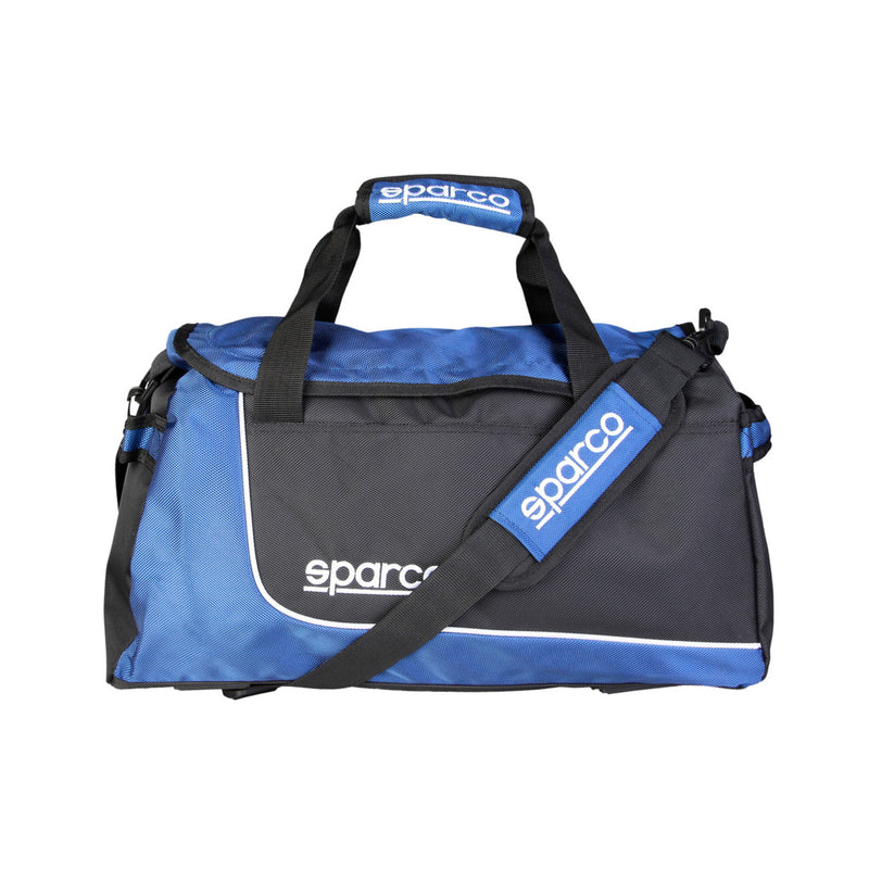 Sparco Blue Gym and Travel Bag - S6_BLU, Front2, Blue